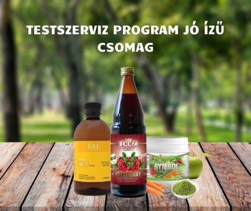 TESTSZERVIZ PROGRAM JÓ ÍZŰ :-) CSOMAG (Symbol, Pölz Bio Prémium Vörösáfonyalé, GalPrémium MCT olaj)
