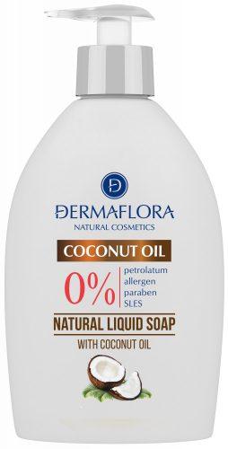 Dermaflora 0% FOLYÉKONY SZAPPAN COCONUT OIL 400 ml